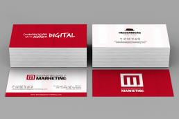 Tarjetas de visita para márketing
