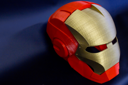Impresión3d casco ironman