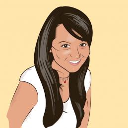 Ilustración de retrato